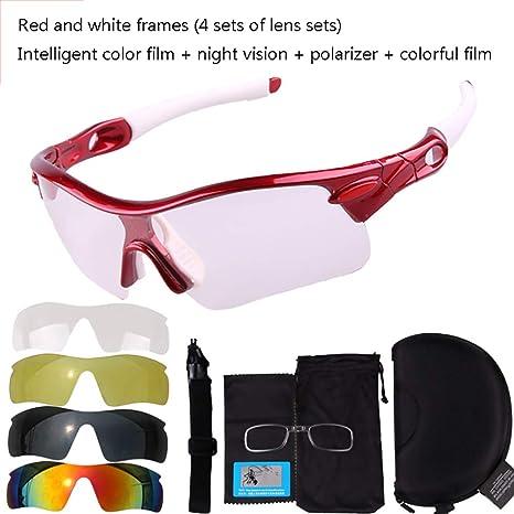 Mmsww Gafas de Moto, Gafas de esquí Gafas de Bicicleta de montaña ...