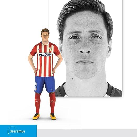 Staramba Fernando Torres figura 3D - Atlético de Madrid