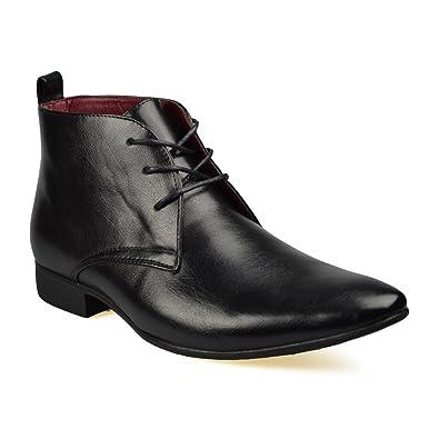 ClassyDudeAnkle Boots - Botines Chukka Hombre, Color Negro, Talla 38 EU