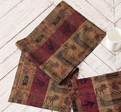(Black Forest Décor High Country Table Runner - 54 Inch)