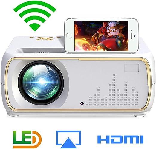 YTDDD Proyector, proyector de Pantalla inalámbrico para teléfono ...