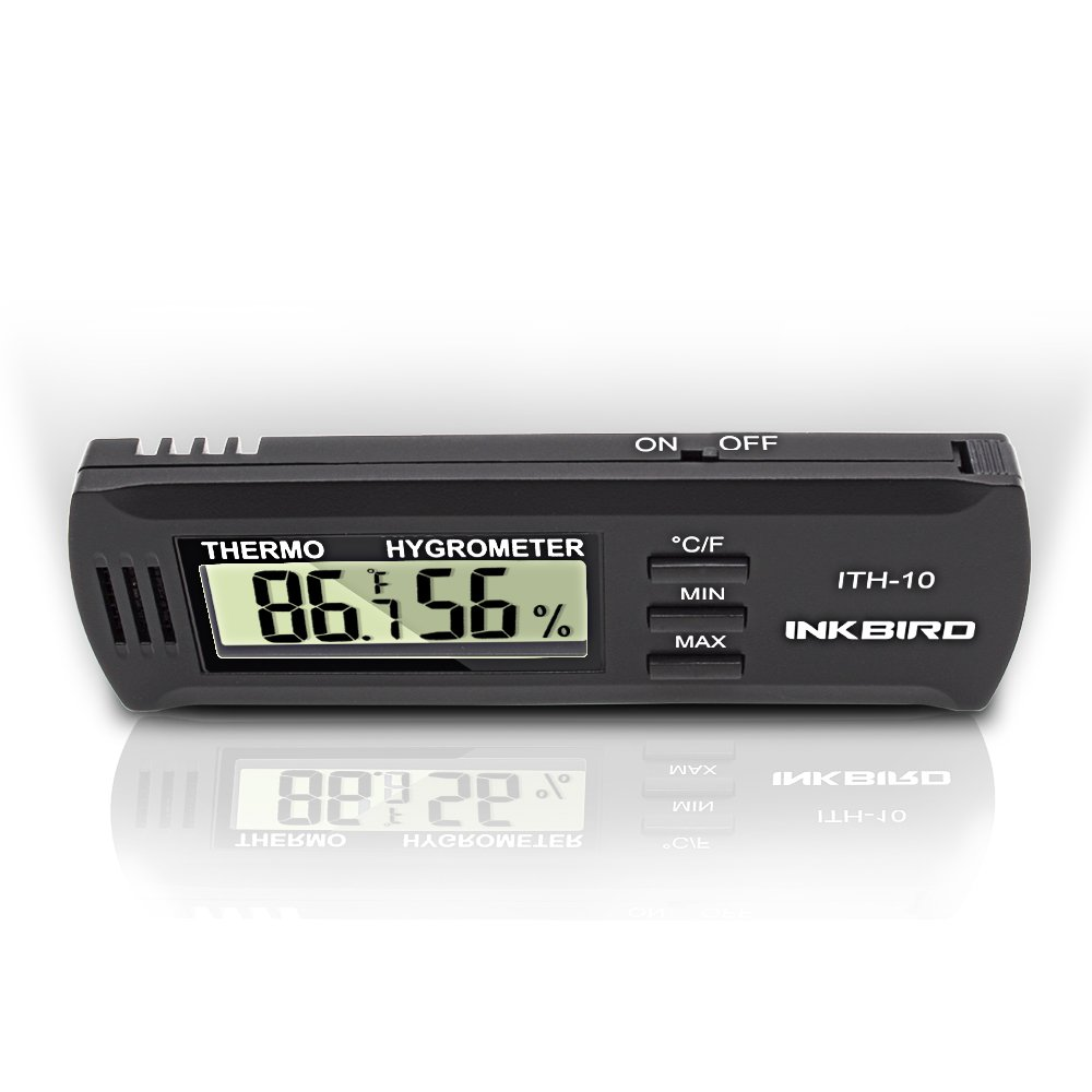 Inkbird Dc 3V Input Digital Thermometer & Humidity Meter Hygrometer High Accuracy ITH-10 Inkbird Tech LT-2