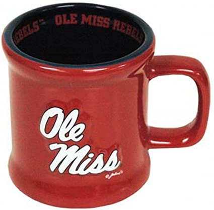 NCAA Ole Miss Rebels Mug Ceramic Relief