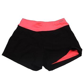 Pantalones cortos de deporte, para mujer, transpirables ...