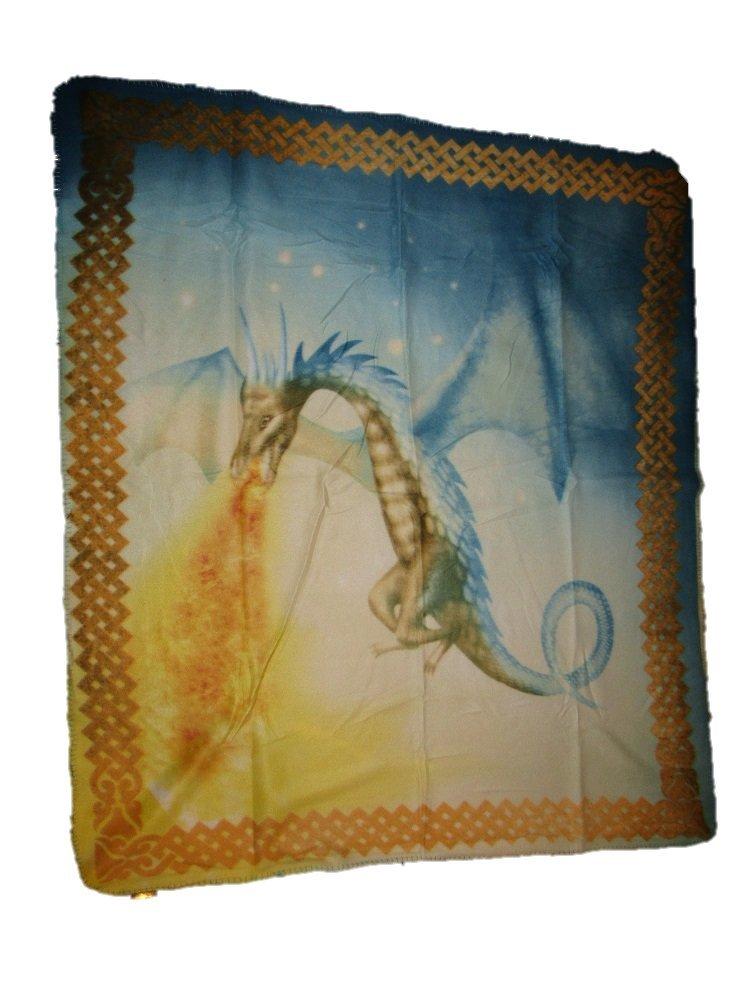 Celestial Mysticalドラゴン呼吸Fire 50 x 60 Polar Fleece Blanket Throw B01N0T97E0