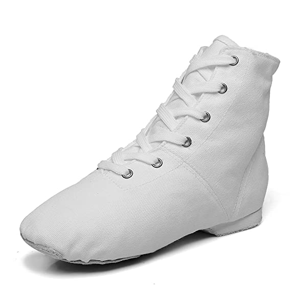 Men's Swing Dance Clothing, Vintage Dance Clothes Canvas Womens Jazz Dance Boots Red/Black/White/Green $29.90 AT vintagedancer.com