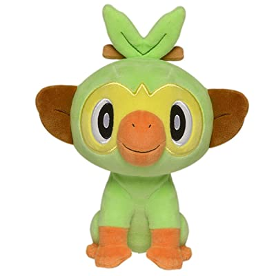 "Lshuqing Sword & Shield Official Plush - Grookey Plush Toys 8"": Kitchen & Dining"
