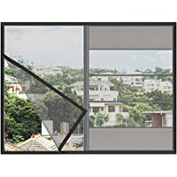 Window Screen Netting Mesh Curtain, Household Gauze Self-Sticking Magic Paste Magnetic Magnet Mosquito Detachable Free Cutting Easy and Convenient Durable
