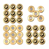 "32 Pack Brass Misting Nozzles For Outdoor Cooling System, 0.012"" Orifice (0.3 mm) 10/24 UNC By Aootech"
