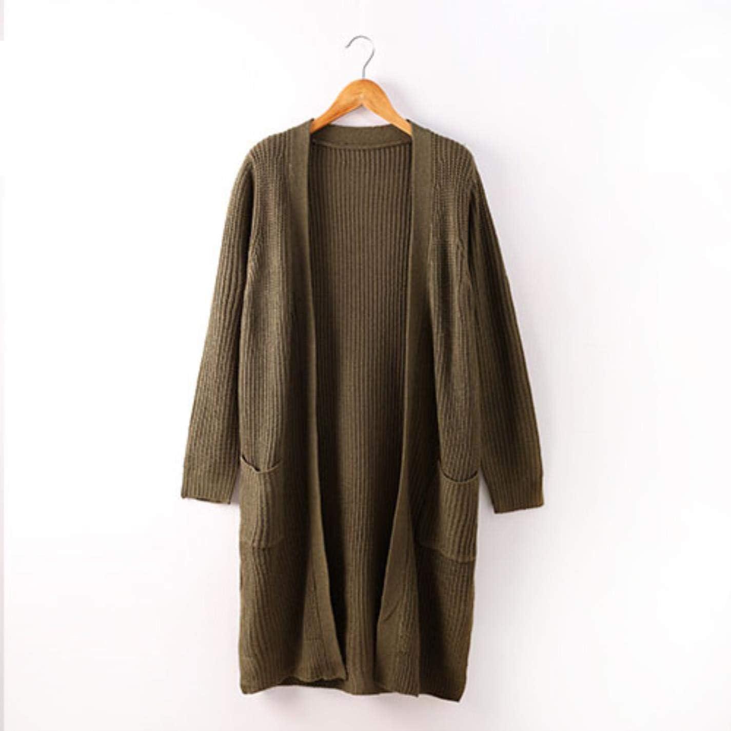 PjBWoEMP Womens Knit Cardigan Casual Long Sleeve Sweater