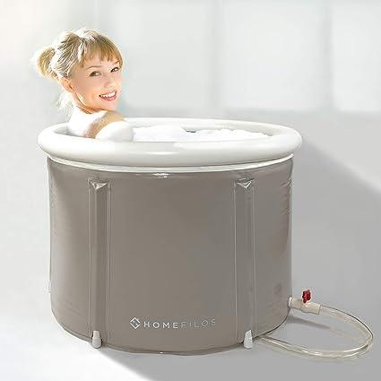 Amazon.com: Homefilos - Bañera portátil para baño japonesa ...
