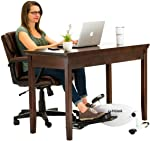 FitDesk Under Desk Elliptical - Bike Pedal Machine with Magnetic Resistance