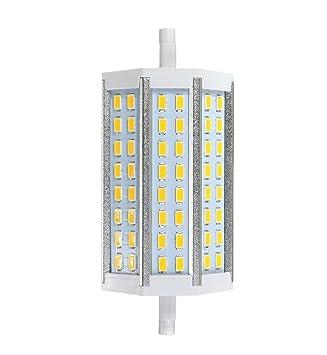 CORST lámpara de intensidad regulable de 15 W R7S 118 mm 5730 SMD 48 Bombilla halógena