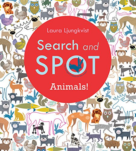 Search and Spot: Animals! (A Search and Spot Book)