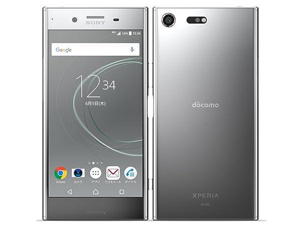 白ロムdocomo XperiaXZ Premium SO-04J Luminous Chrome