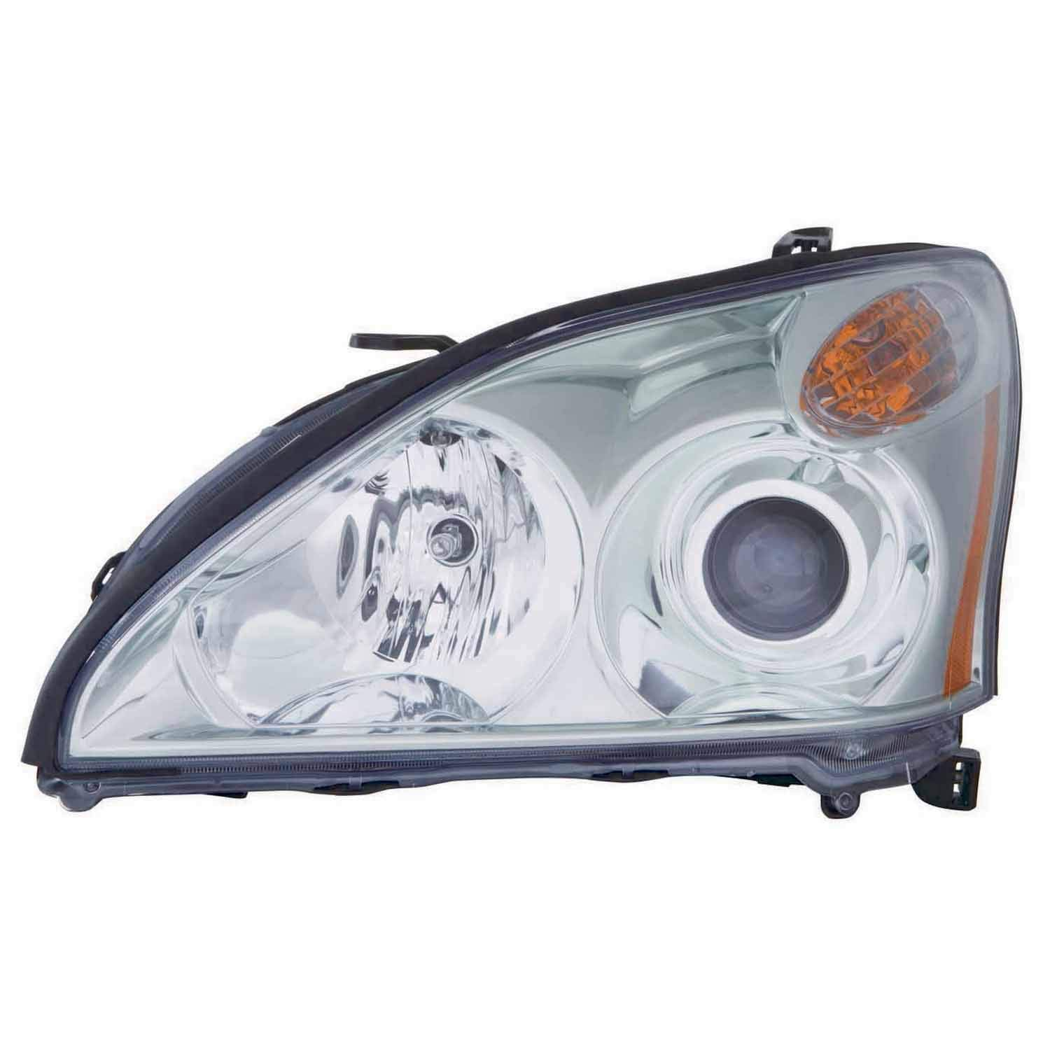 No variation Multiple Manufactures LX2502159C Standard Headlight Assembly