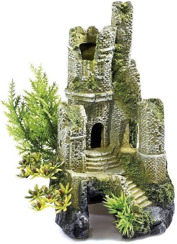 Decorado para Acuario de 30 Litros - Castillo en Ruinas