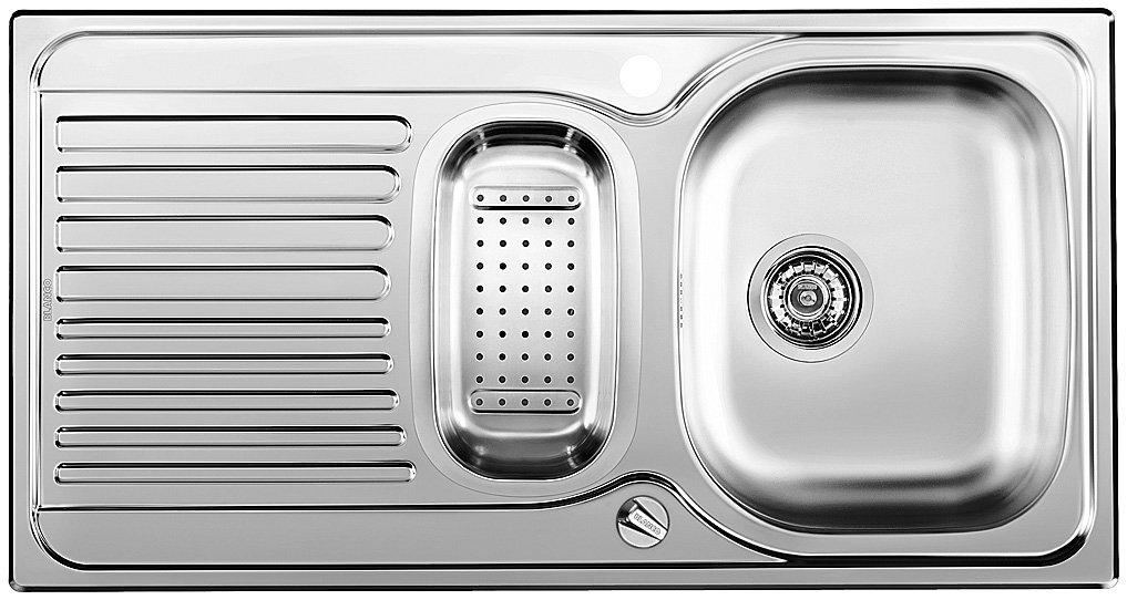 Blanco Toga 6 S Basic, Küchenspüle, Edelstahl Naturfinish, 1 Stück ...