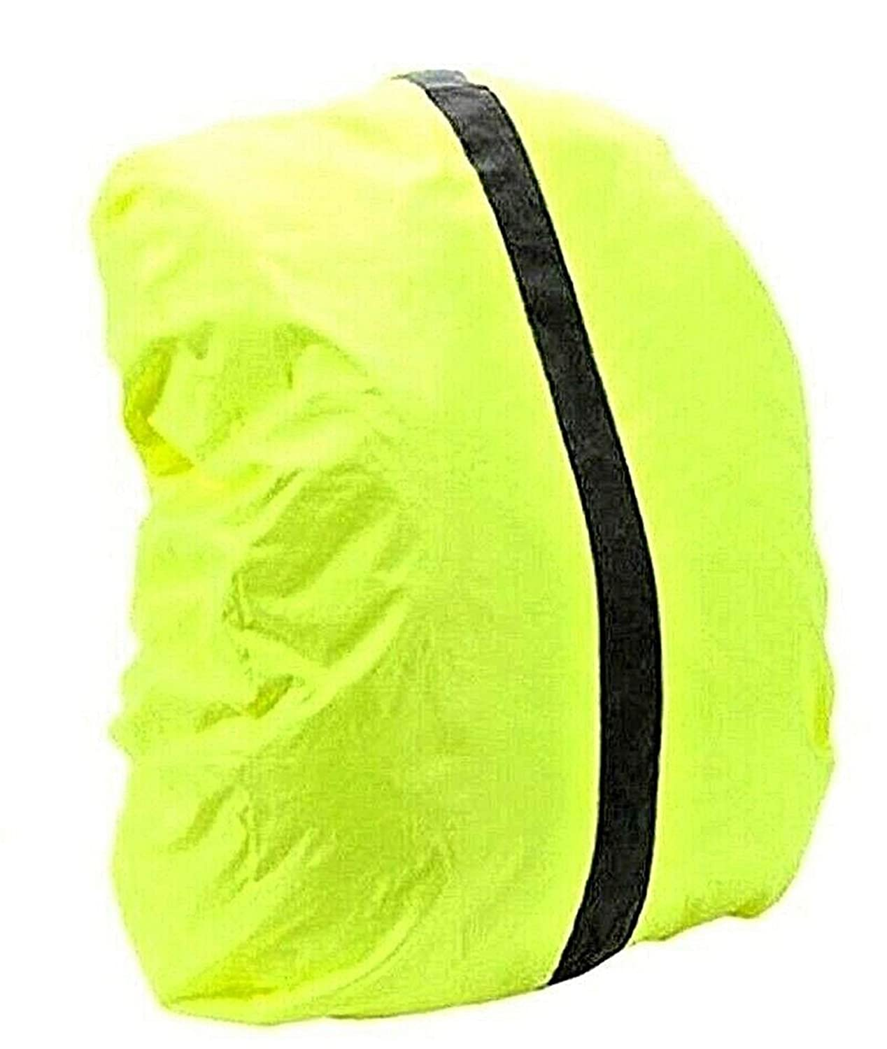 High Viz Waterproof Cycling Running Backpack Bag Rucksack Rain Cover Safety 20L