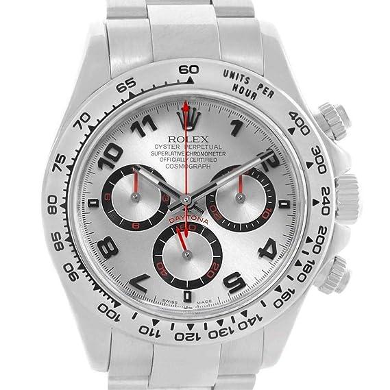 Rolex Daytona 116509 - Reloj automático, automático, autoviento, Masculino (Certificado de autenticidad