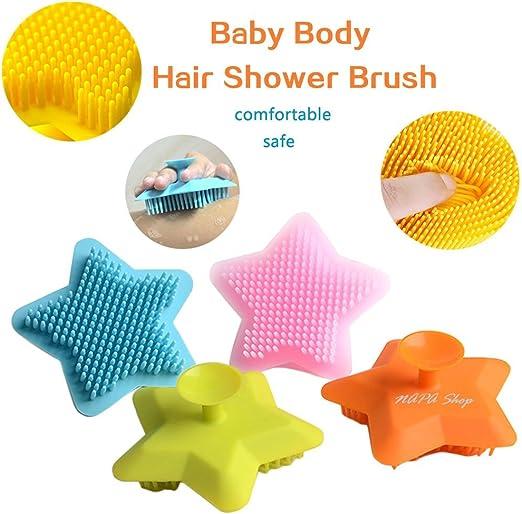 Amazon Com Soft Silicone Exfoliating Brush Scrubber Bath Scrub