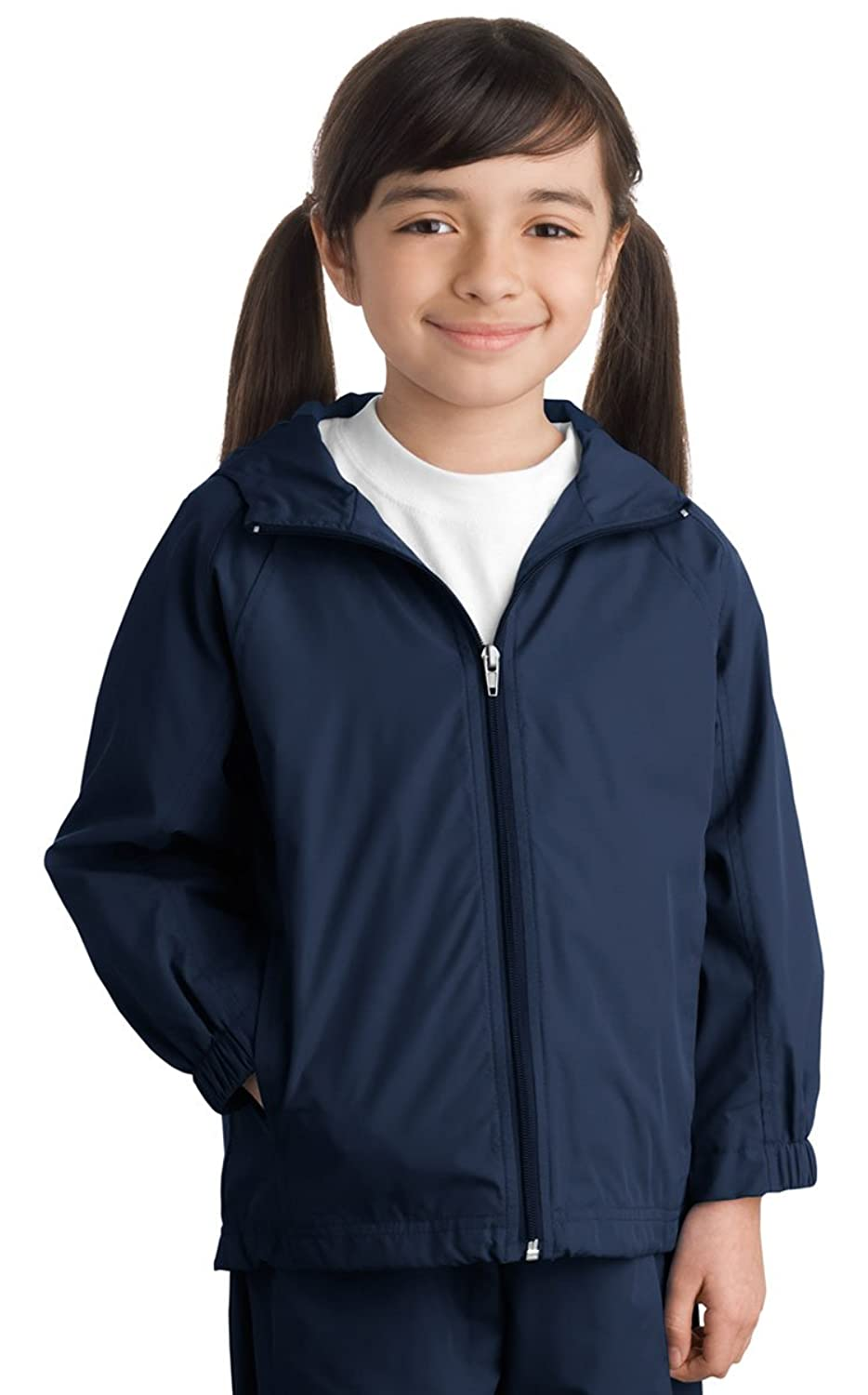 Sport-Tek Youth Hooded Raglan Jacket