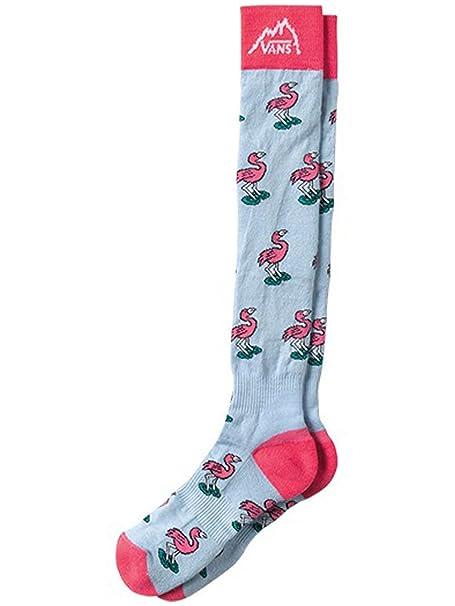 Vans Wiggins nieve calcetines, Hombre, color rosa claro, tamaño SM: Amazon.es: Ropa y accesorios
