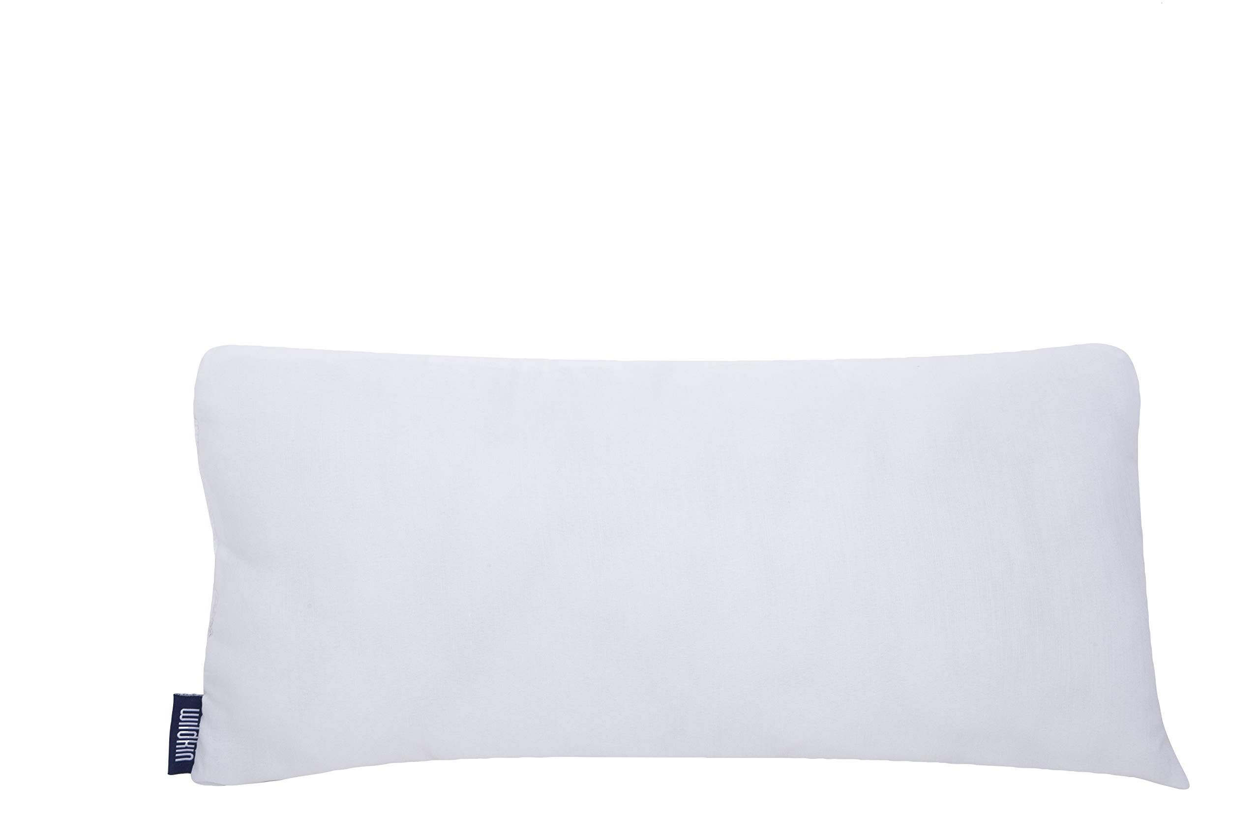 Wildkin Original Nap Mat Pillow, Replacement Pillow for Original, Cotton, and Microfiber Nap Mats, Ultra Plush Cotton Blend Fill, Measures 18 x 3 x 8 Inches - White