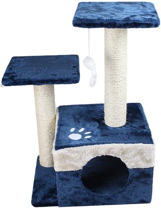 MRZ Gato del Gato Torre del Gato rascando Postes para Gatos Gatito ...