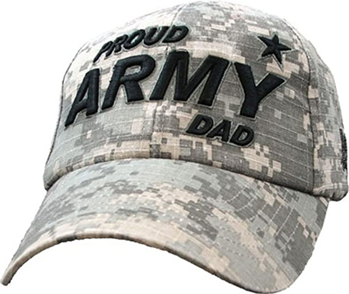 Amazon.com  Eagle Crest U.S. Army Proud Army Dad Cap 590e4c4c47d