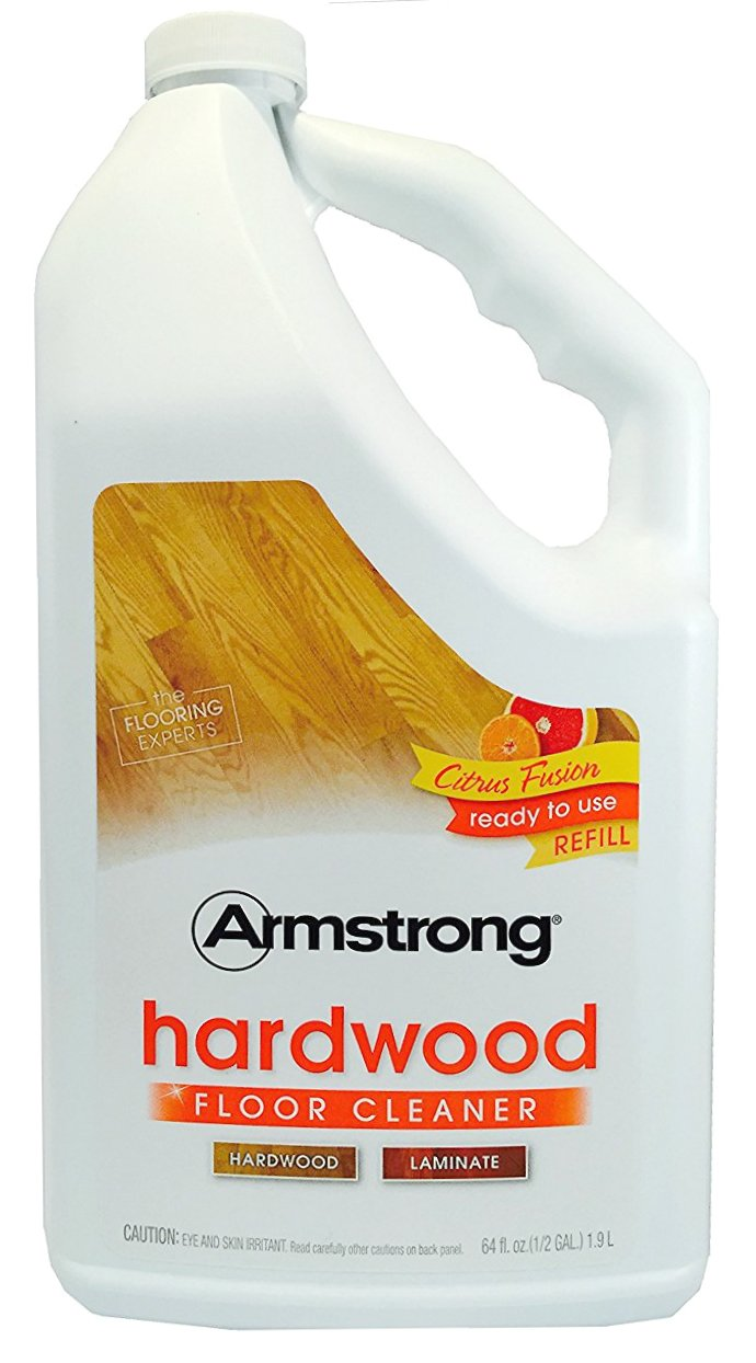 Armstrong Hardwood and Laminate Floor Cleaner Ready To Use Refill Citrus Fusion 64oz (64 Oz)