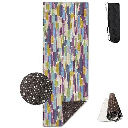 Amazon.com: Alfombrilla de yoga Beauregar con bolsa de ...
