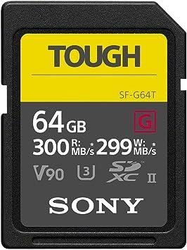Amazon.com: Sony SDXC Tarjeta de memoria GB UHS-1 II, SF ...