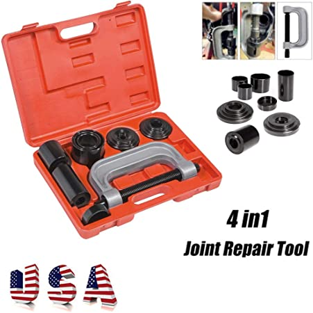 Ball-Joint Press U-Joint Puller Removal Separator DA YUAN Universal Ball Joint Service Kit Upper /& Lower Control Arm Bushing Tool