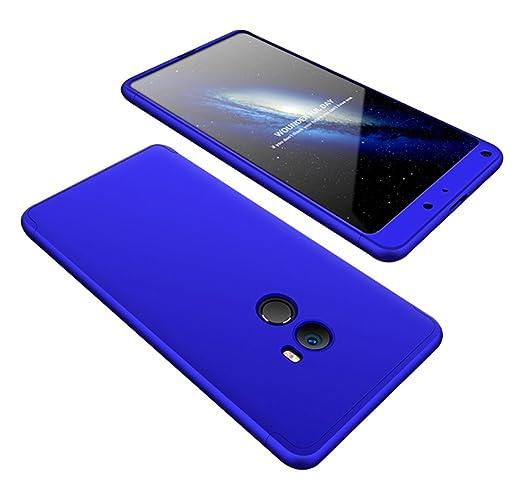 FaLiAng Funda XiaoMi Mi Mix 2, 3 en 1 Desmontable Anti-Arañazos ...