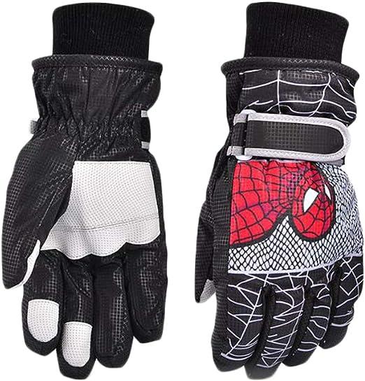 Kids gloves Skiing Boys Snow gloves Winter gloves Girls ski gloves 2 Styles S//M