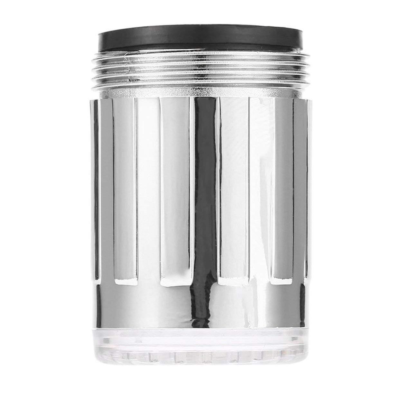 MXECO Sensor de temperatura creativo Luz LED Grifo de agua Toque Resplandor Iluminaci/ón Ducha Rociador Grifo para cocina Ba/ño