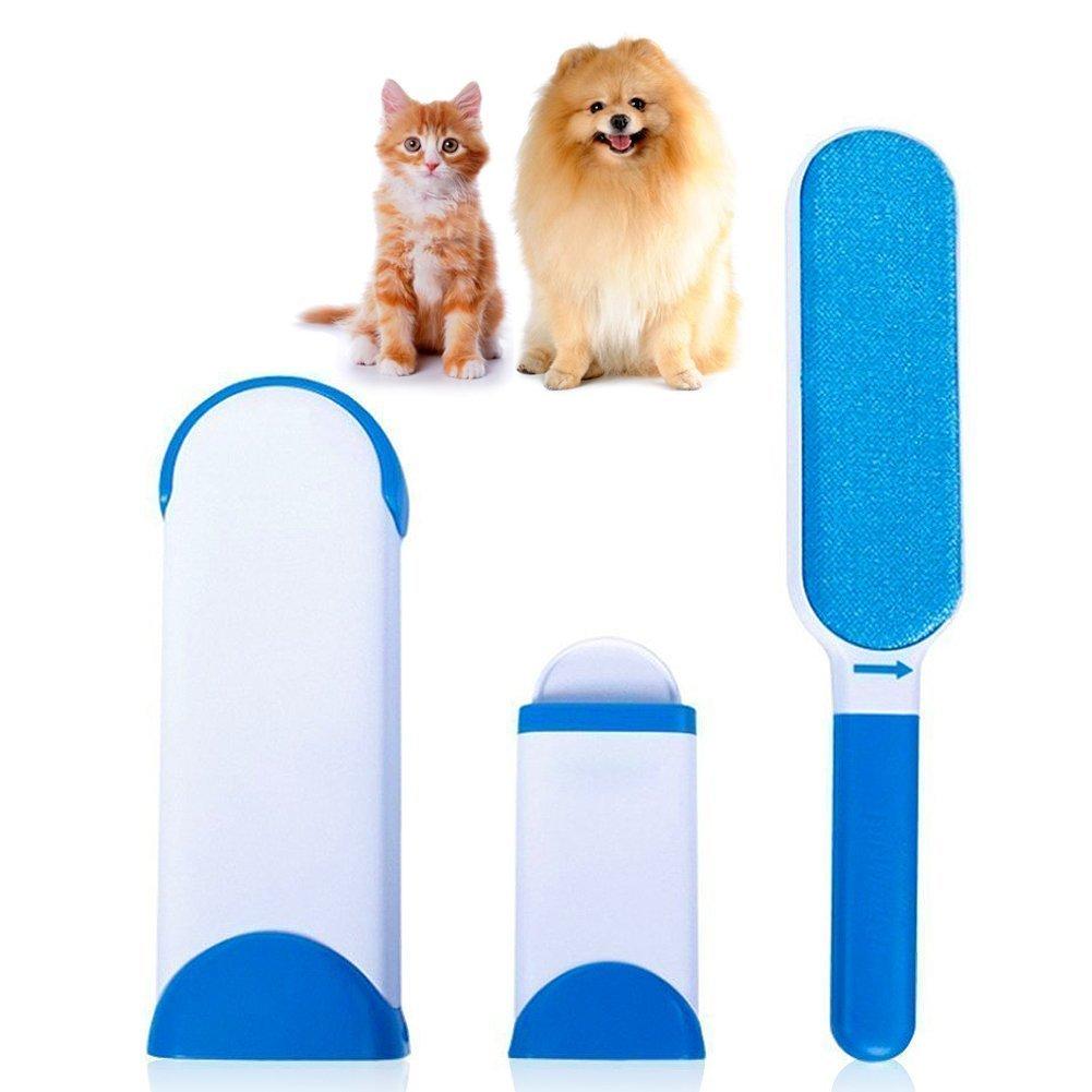 Pet Cepillo de Animales Cepillo de eliminación de pelo de mascotas ...