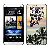 God Garden - FOR HTC One M7 - We Dream In Coors bowwed from the sea - Case Cover Protection Design Ultra Slim Snap on Hard Plastic