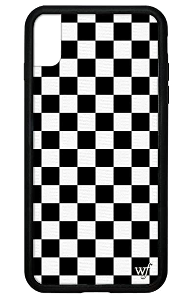 promo code af79d e7df1 Wildflower Limited Edition iPhone Case for iPhone Xs Max (Black Checkers)