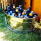 Closeoutfitters Armored Stainless Steel Beverage Tub