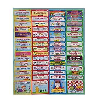 Amazoncom Lot 60 Easy Leveled Books Homeschool Preschool