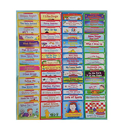 Lot 60 Easy Leveled Books Homeschool Preschool Kindergarten First Grade 1
