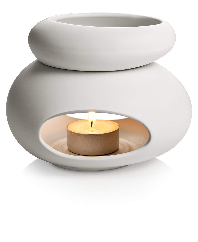 Tescoma Stones Fancy Home Diffusore di aromi, Ceramica Smaltata, Bianco, TU 906832.11