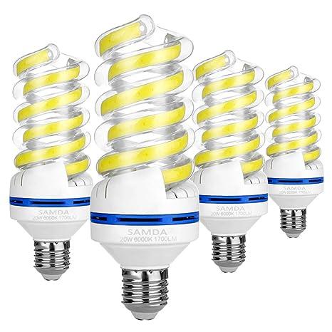 Bombillas LED E27,20w equivalente a 150watt lámpara incandescente,luz blanca fría 6000K,