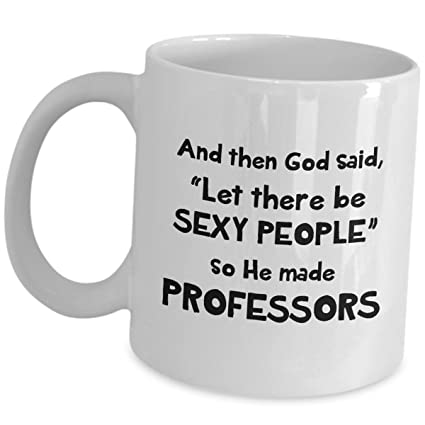 Amazoncom Professor Gift Ideas Coffee Mug Let There Be