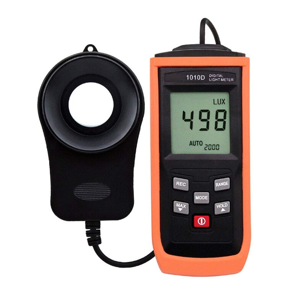 Lee Lam Light Meters Digital Light Meter with Display (Range from 1~200,000Lux),Unit Lux/Fc,Back Light,Data Hold,Data Storage,One by Lee Lam