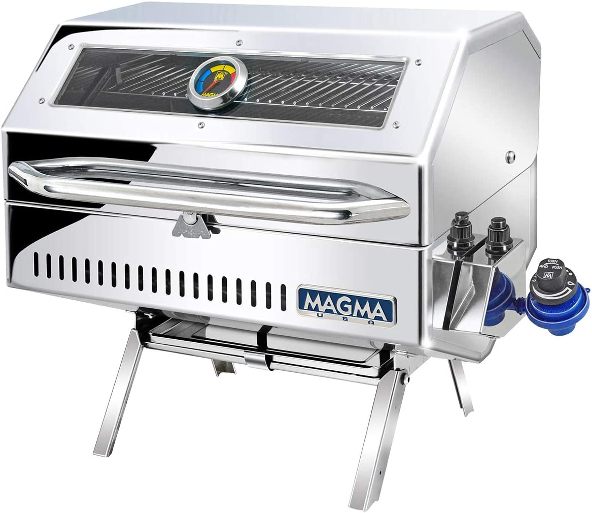 Magma Products Catalina 2 Infra Red, Gourmet Series Gas Grill, Multi, One Size