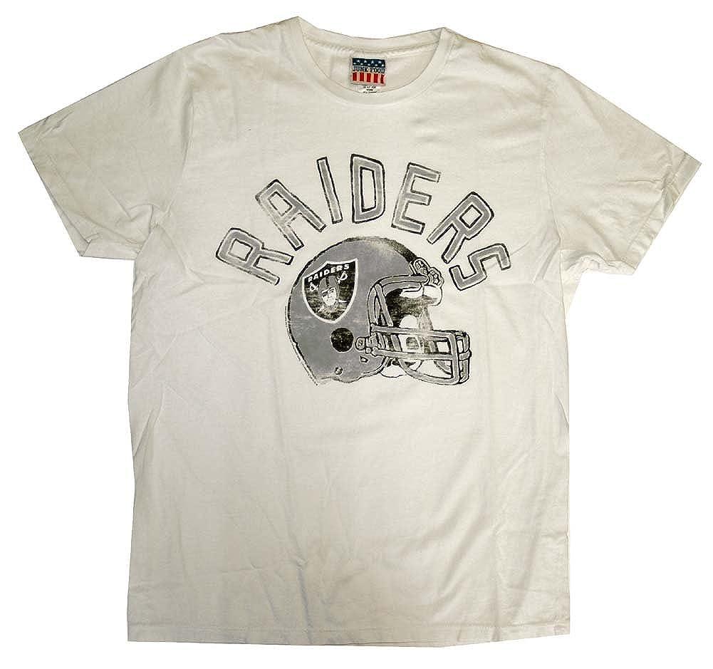 0a929195 Oakland Raiders NFL Junk Food Vintage Style Football Adult T-Shirt ...