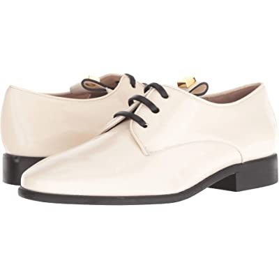 Stuart Weitzman James Ivory Vinile Nappa 9.5 | Oxfords